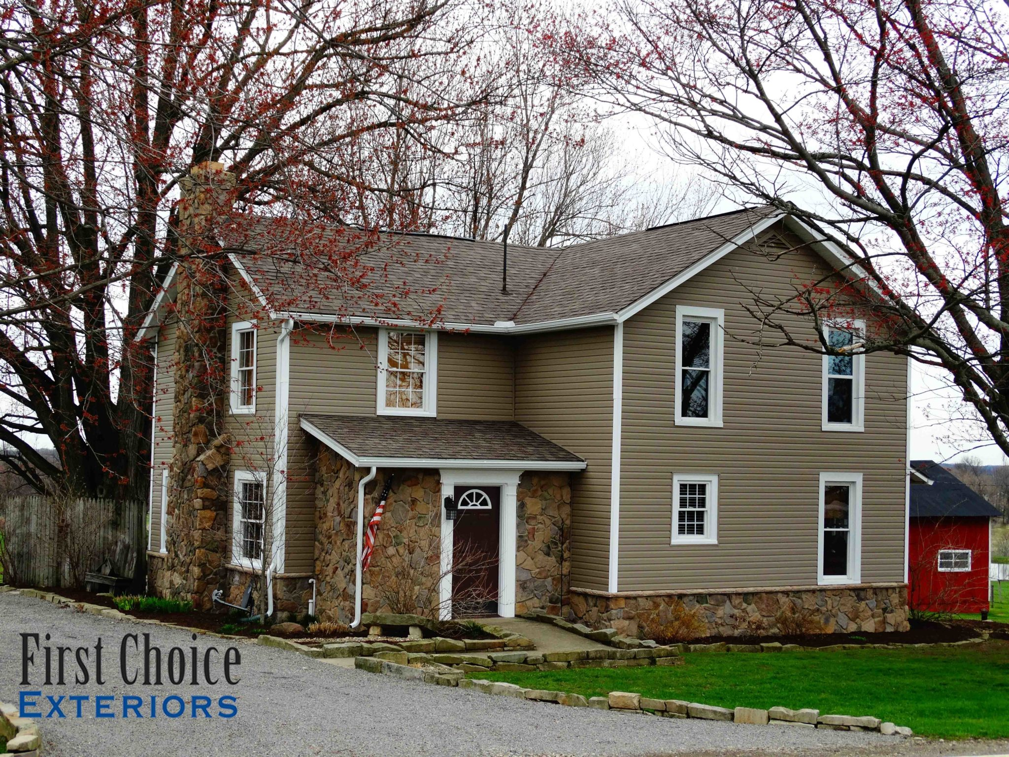 Home first choice exteriors quality exterior products - Quality home exteriors ...